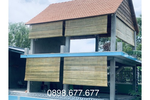 Mành trúc che nắng được làm từ vật liệu tự nhiên 100%