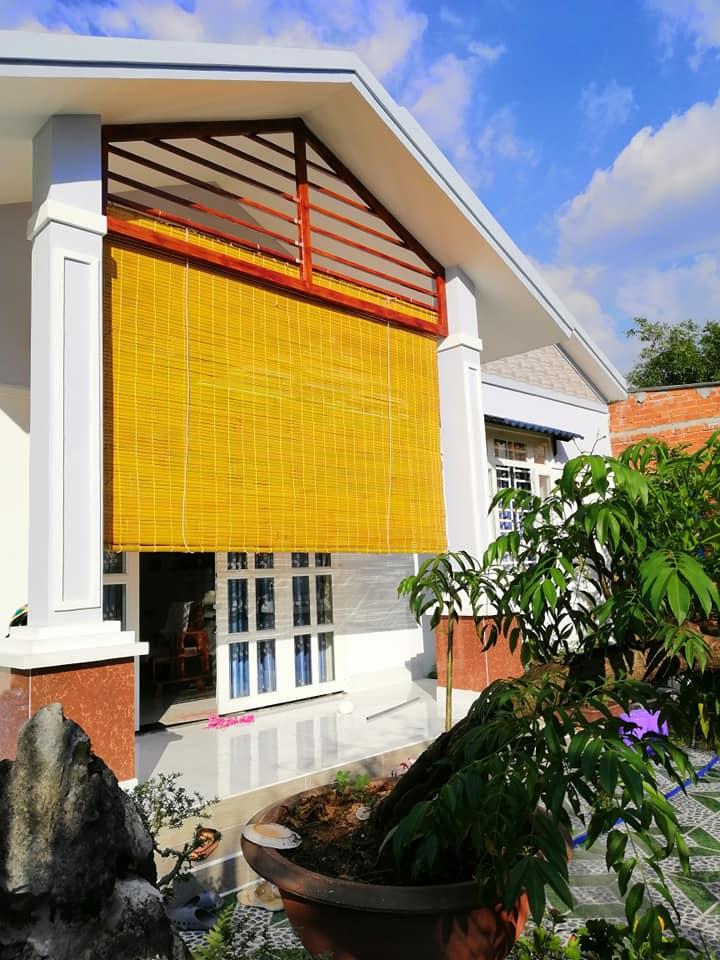 Rèm chống nắng mưa, mành che nắng, mành trúc che nắng ban công NGỌC HOÀNG