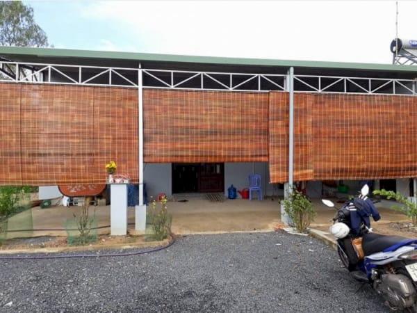 Bán mành/ rèm tre trúc che nắng tại TPHCM che nắng mái hiên, sân nhà